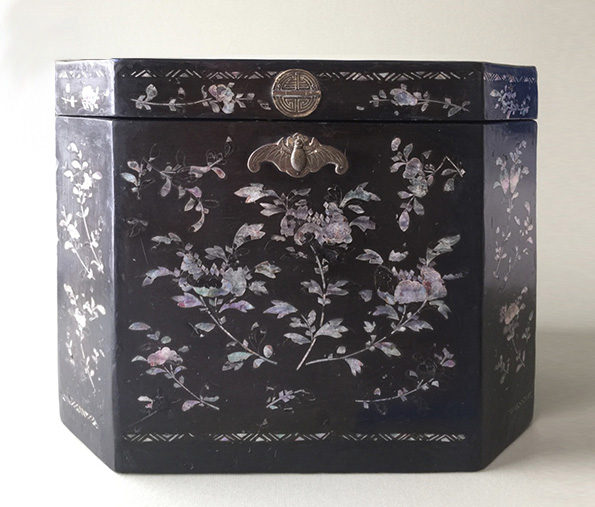 Chinese Lacquered Box – Qing Dynasty