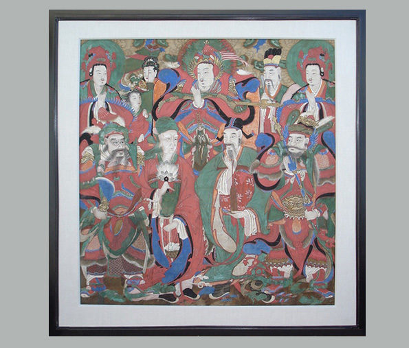 Korean Temple Painting – Choson Dynasty