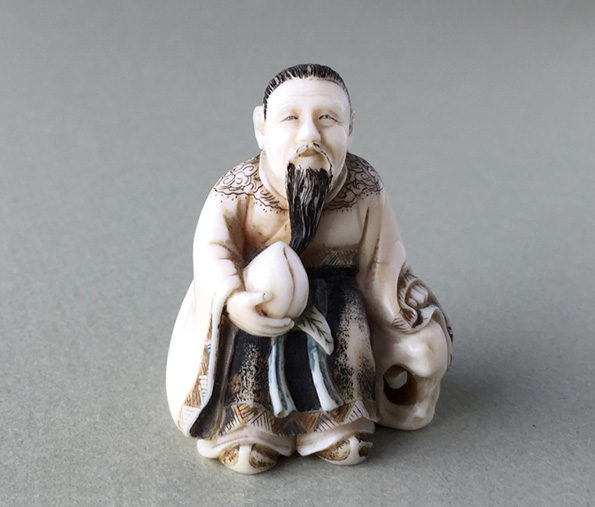 Japanese Ivory Netsuke – Meiji period