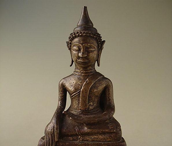 Burmese Bronze Buddha – Shan