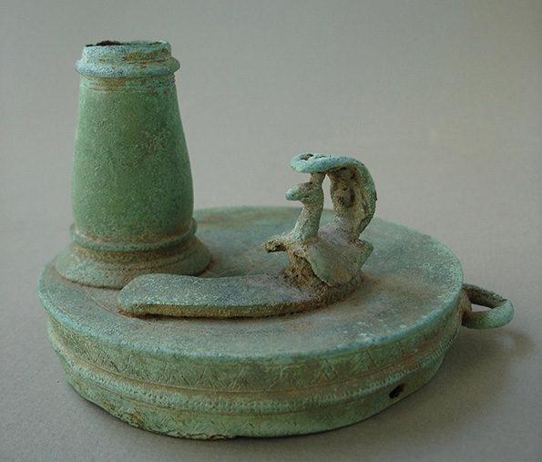 Cambodian Bronze Lid – Khmer
