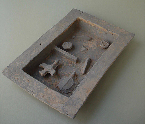 Chinese Pottery Model of a Pond – Han Dynasty