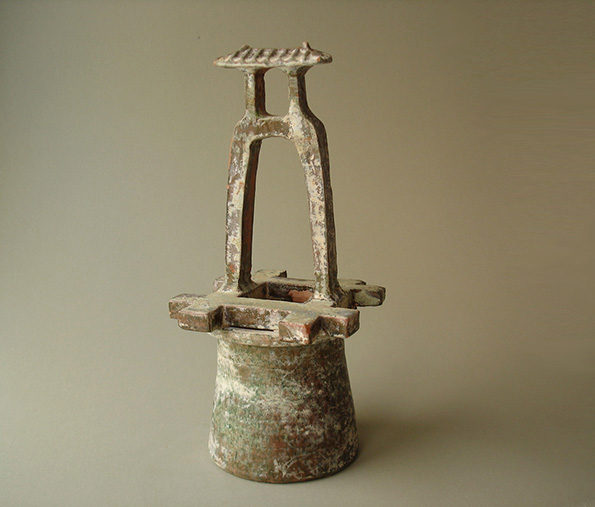 Chinese Model of a Well Head – Han Dynasty