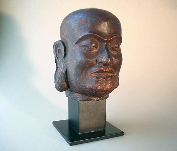 Chinese Head of a Louhan – Ming Dynasty