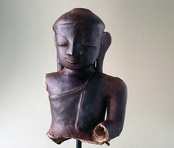 Burmese Paper-Mache Buddha – Ava