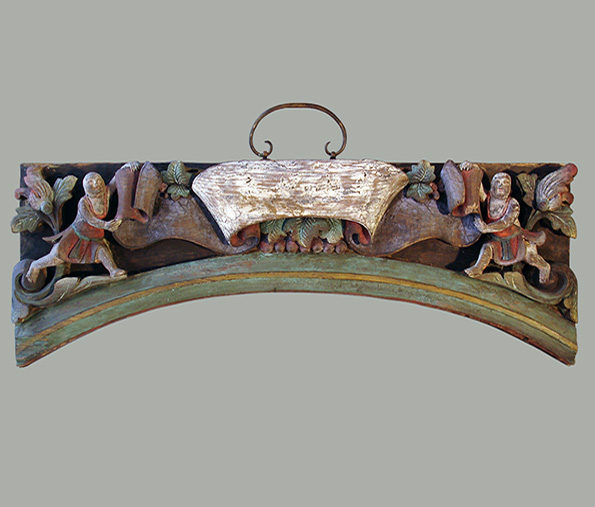 Chinese Wooden Lintel Ornament
