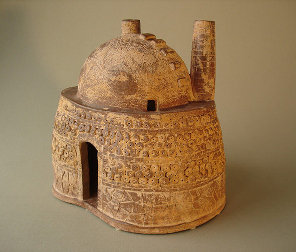 Chinese Clay Model of a Kiln